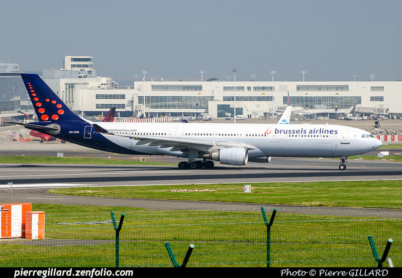 Pierre GILLARD: Brussels Airlines &emdash; OO-SFM-2018-709442