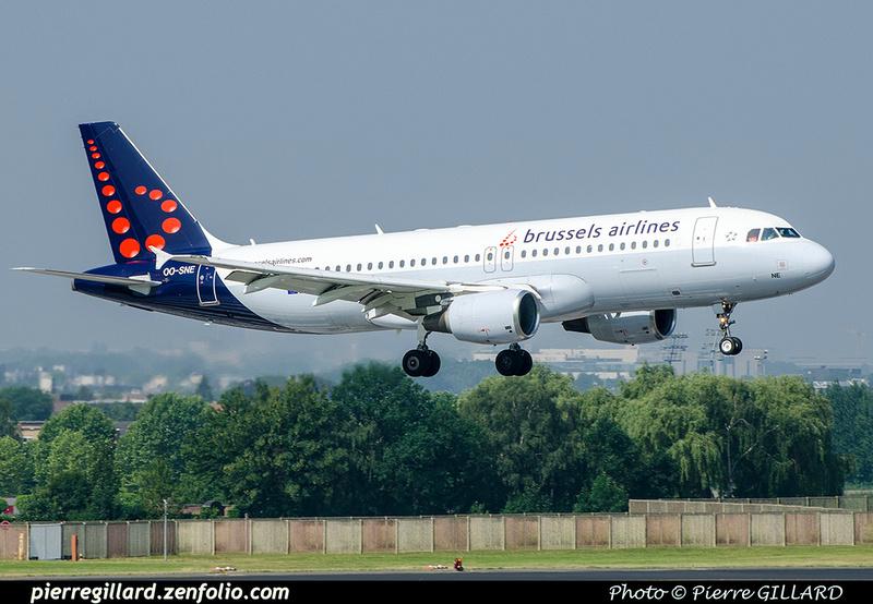 Pierre GILLARD: Brussels Airlines &emdash; OO-SNE-2018-709395