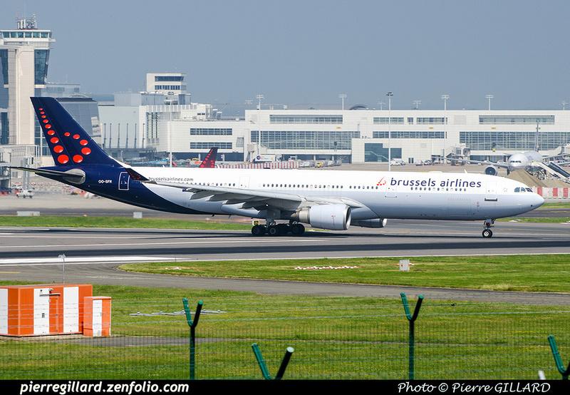 Pierre GILLARD: Brussels Airlines &emdash; OO-SFN-2018-709568