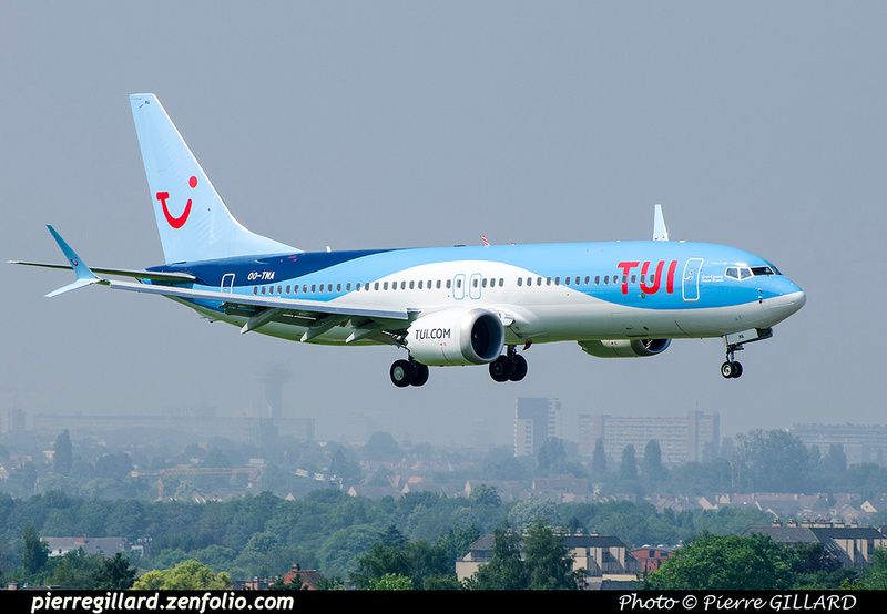 Pierre GILLARD: TUI Airlines Belgium &emdash; OO-TMA-2018-709547