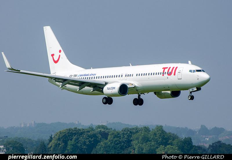 Pierre GILLARD: TUI Airlines Belgium &emdash; CS-TQU-2018-709520