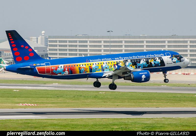 Pierre GILLARD: Brussels Airlines &emdash; OO-SND-2018-709646
