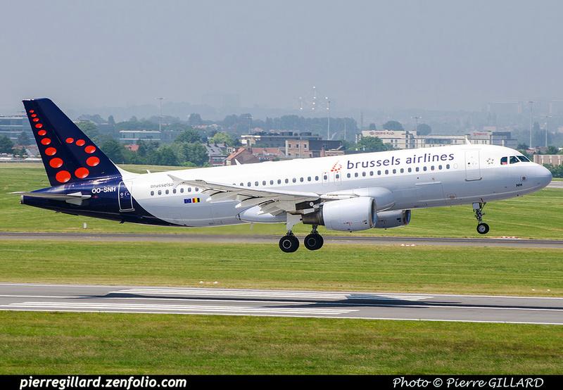 Pierre GILLARD: Brussels Airlines &emdash; OO-SNH-2018-709650
