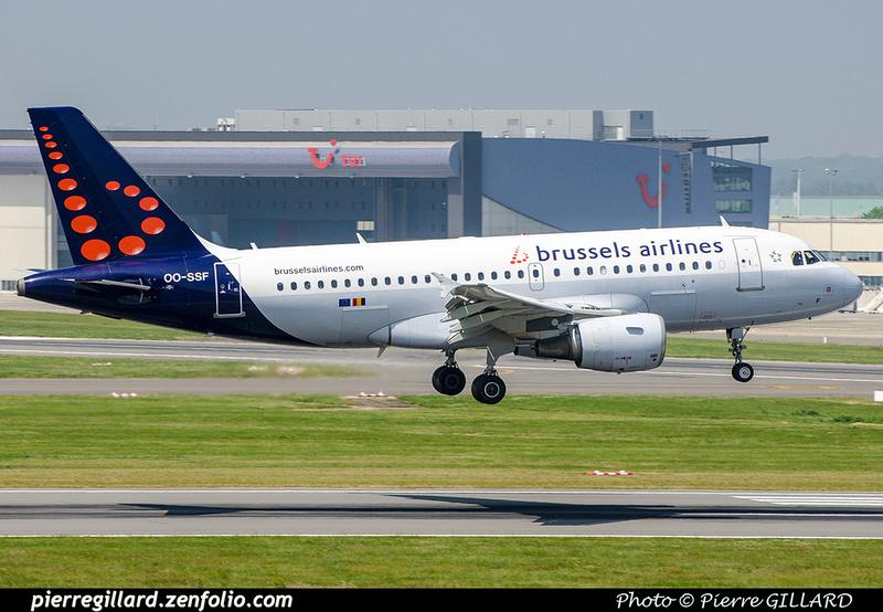 Pierre GILLARD: Brussels Airlines &emdash; OO-SSF-2018-709656