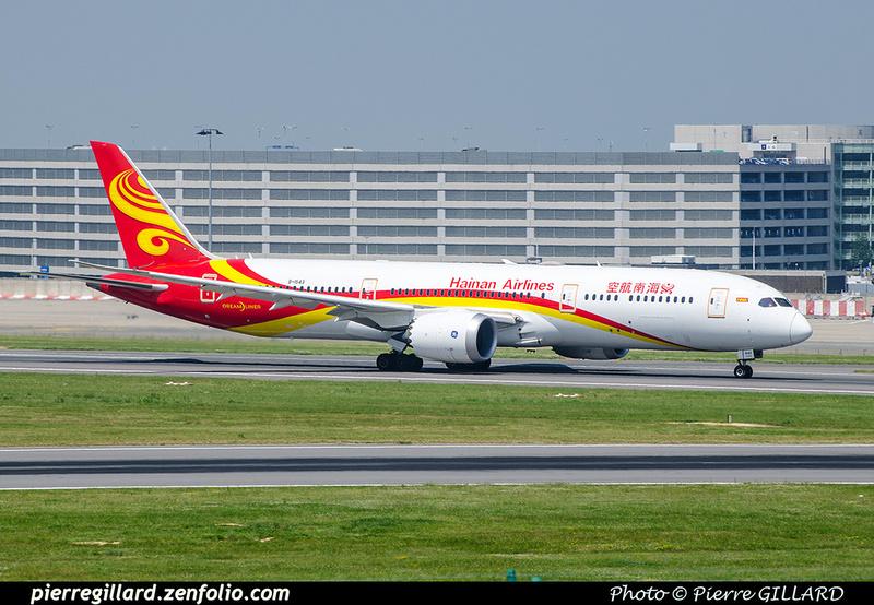 Pierre GILLARD: Hainan Airlines - 海南航空公司 &emdash; 2018-709626