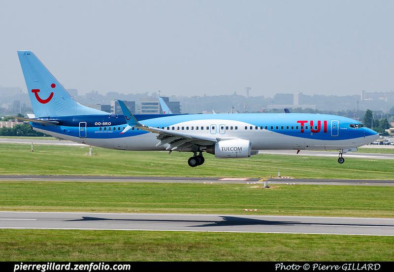 Pierre GILLARD: TUI Airlines Belgium &emdash; OO-SRO-2018-709751