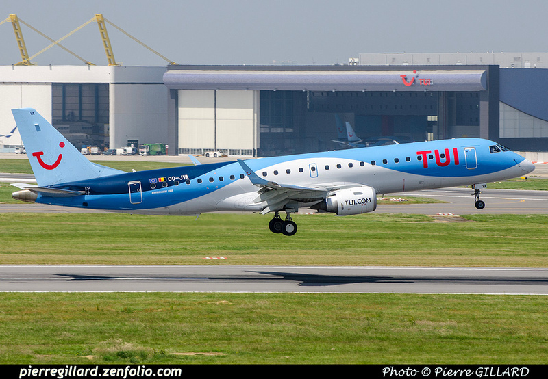 Pierre GILLARD: TUI Airlines Belgium &emdash; OO-JVA-2018-709671