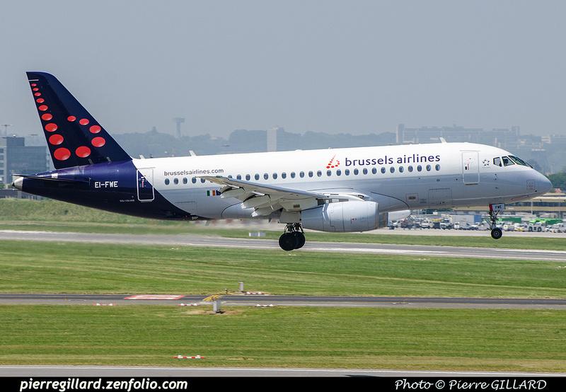 Pierre GILLARD: Brussels Airlines &emdash; EI-FWE-2018-709742