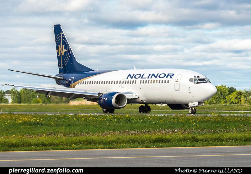 Pierre GILLARD: 2018-08-30 - Inauguration de la piste 06L/24R rénovée de Saint-Hubert et présentation du Boeing 737 de Chrono Aviation &emdash; 2018-423066