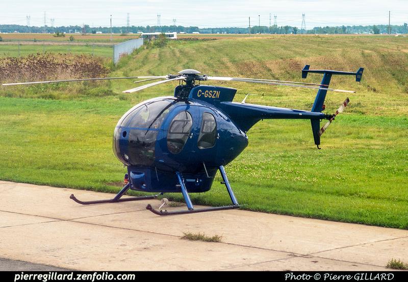 Pierre GILLARD: Canada - Hélicoptères privés - Private Helicopters &emdash; 2018-619093