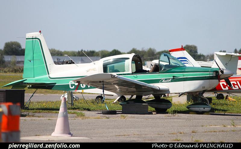 Pierre GILLARD: Private Aircraft - Avions privés : Canada &emdash; 030399