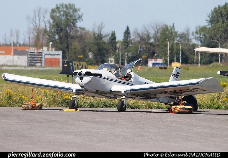 Pierre GILLARD: Private Aircraft - Avions privés : Canada &emdash; 030395