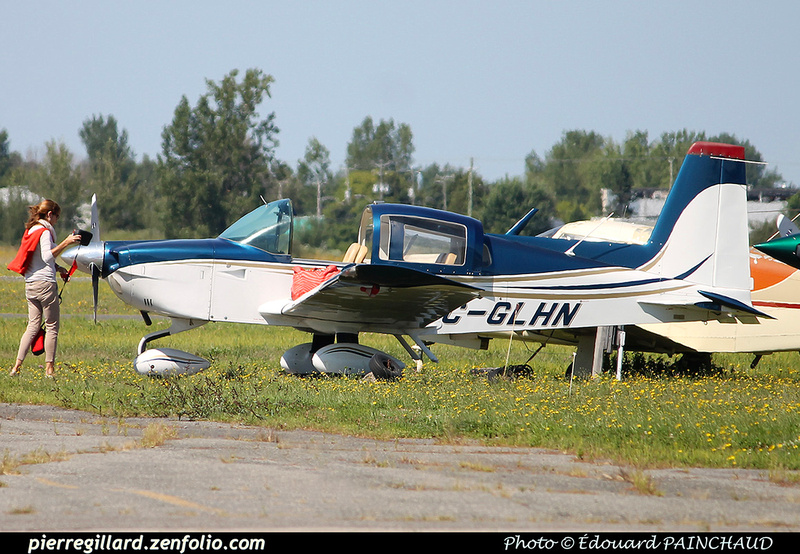 Pierre GILLARD: Private Aircraft - Avions privés : Canada &emdash; 030398