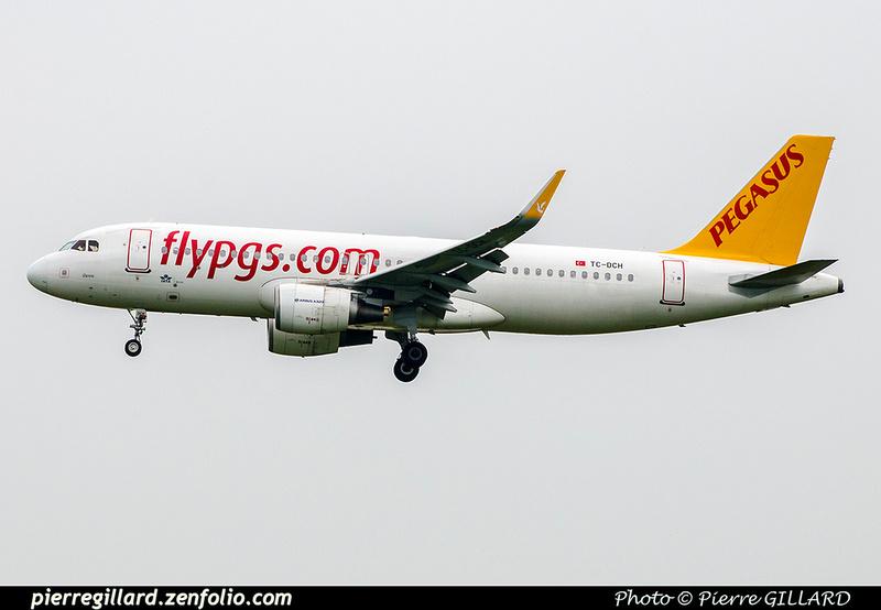 Pierre GILLARD: Pegasus Airlines &emdash; 2018-709945