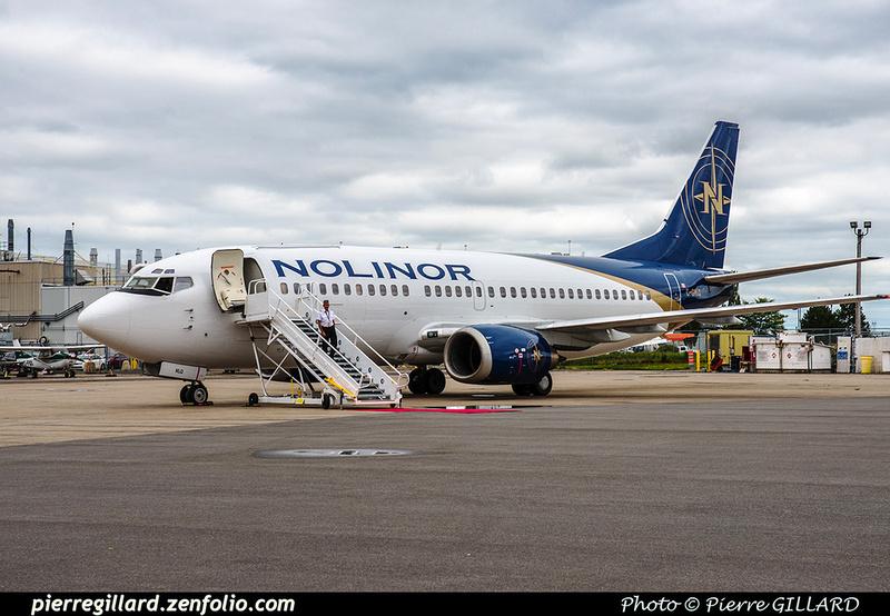 Pierre GILLARD: 2018-08-30 - Inauguration de la piste 06L/24R rénovée de Saint-Hubert et présentation du Boeing 737 de Chrono Aviation &emdash; 2018-619057