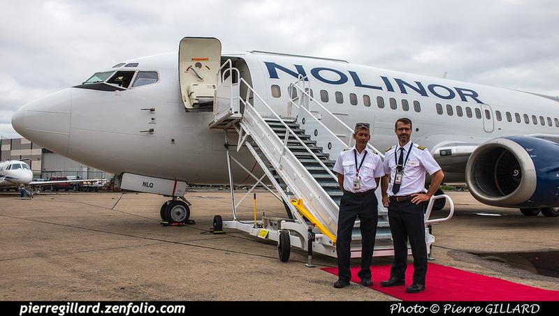 Pierre GILLARD: 2018-08-30 - Inauguration de la piste 06L/24R rénovée de Saint-Hubert et présentation du Boeing 737 de Chrono Aviation &emdash; 2018-619059