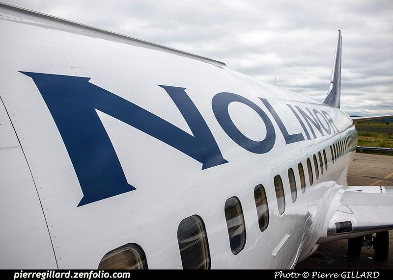 Pierre GILLARD: 2018-08-30 - Inauguration de la piste 06L/24R rénovée de Saint-Hubert et présentation du Boeing 737 de Chrono Aviation &emdash; 2018-619063