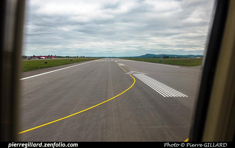 Pierre GILLARD: 2018-08-30 - Inauguration de la piste 06L/24R rénovée de Saint-Hubert et présentation du Boeing 737 de Chrono Aviation &emdash; 2018-619118