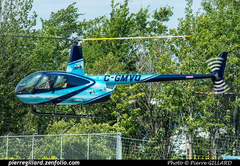 Pierre GILLARD: Canada - Capitale Hélicoptère &emdash; 2018-422366