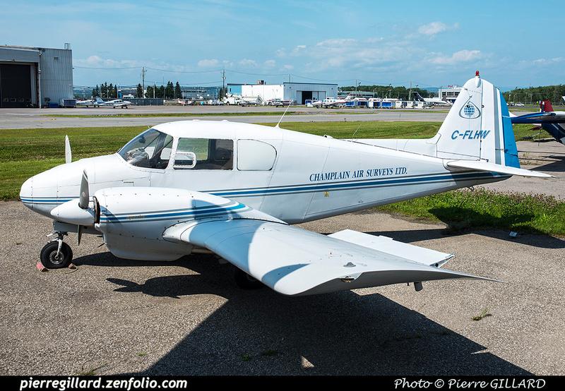 Pierre GILLARD: Champlain Air Surveys &emdash; 2018-618062