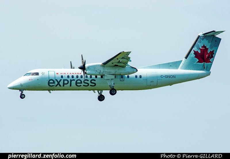 Pierre GILLARD: Air Canada Express &emdash; C-GNON-2018-422385