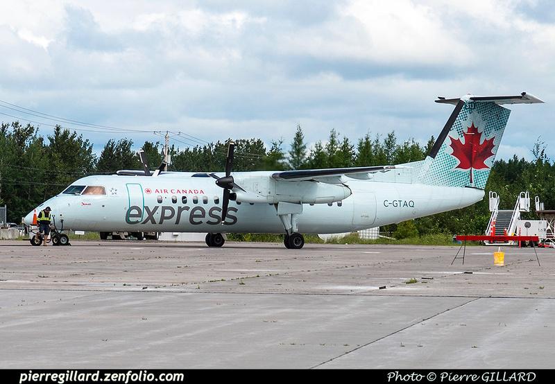 Pierre GILLARD: Air Canada Express &emdash; C-GTAQ-2018-618286