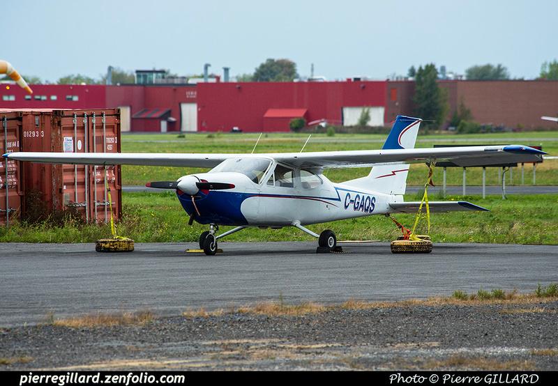 Pierre GILLARD: Private Aircraft - Avions privés : Canada &emdash; 2018-423578