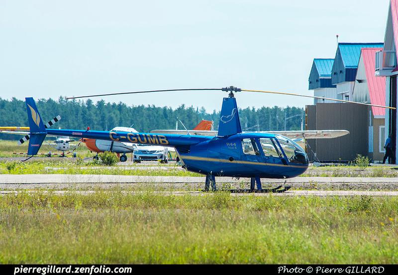 Pierre GILLARD: Canada - Hélicoptères privés - Private Helicopters &emdash; 2018-422438