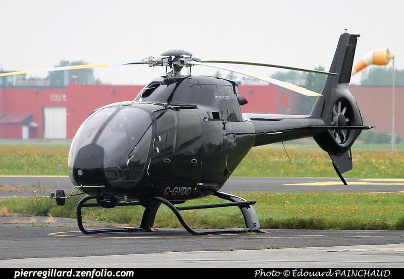Pierre GILLARD: Canada - Hélicoptères privés - Private Helicopters &emdash; 030409