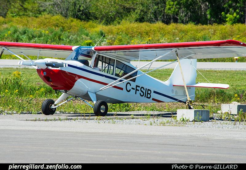 Pierre GILLARD: Private Aircraft - Avions privés : Canada &emdash; 2018-422621