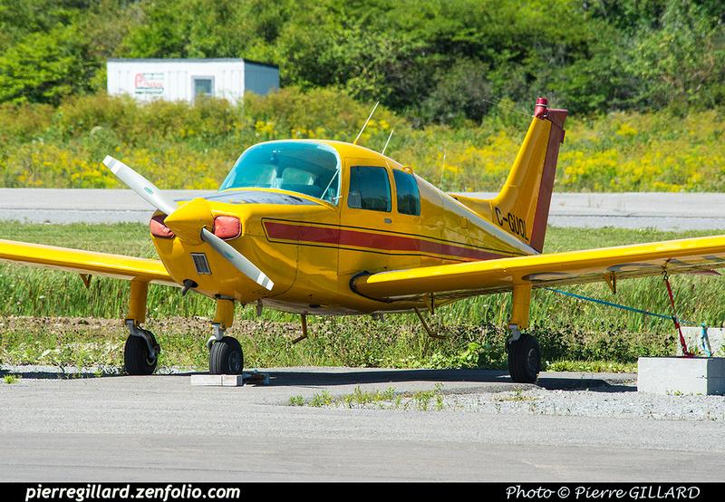Pierre GILLARD: Private Aircraft - Avions privés : Canada &emdash; 2018-422624
