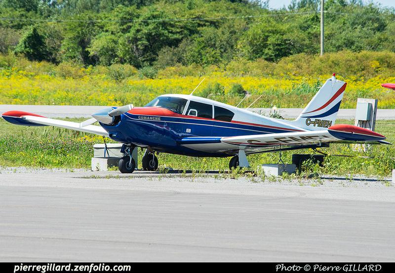 Pierre GILLARD: Private Aircraft - Avions privés : Canada &emdash; 2018-422616