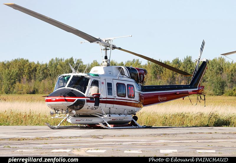 Pierre GILLARD: Canada - Mustang Helicopters &emdash; 030410