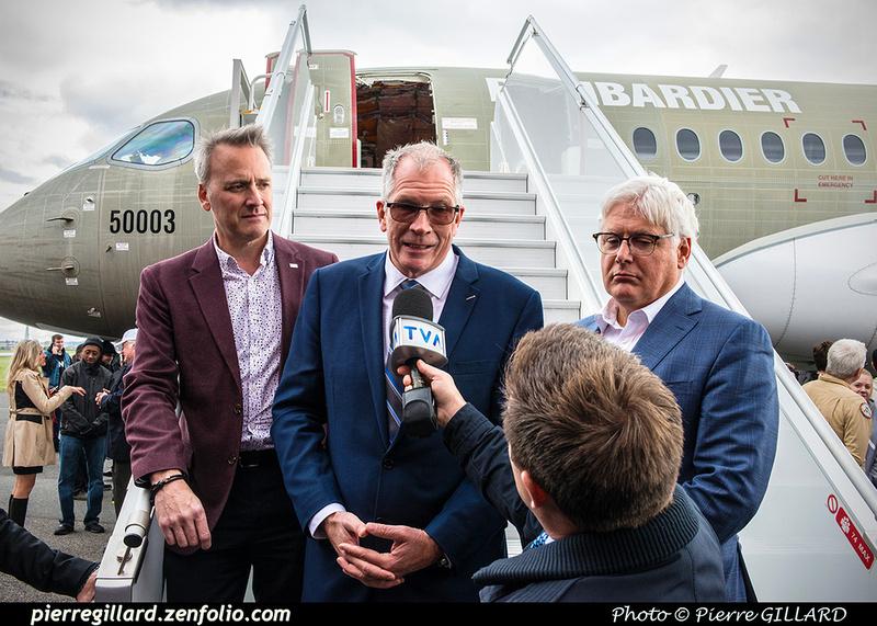 Pierre GILLARD: 2018-10-17 - Livraison du CS100 FTV3 à l'ÉNA &emdash; 2018-619709