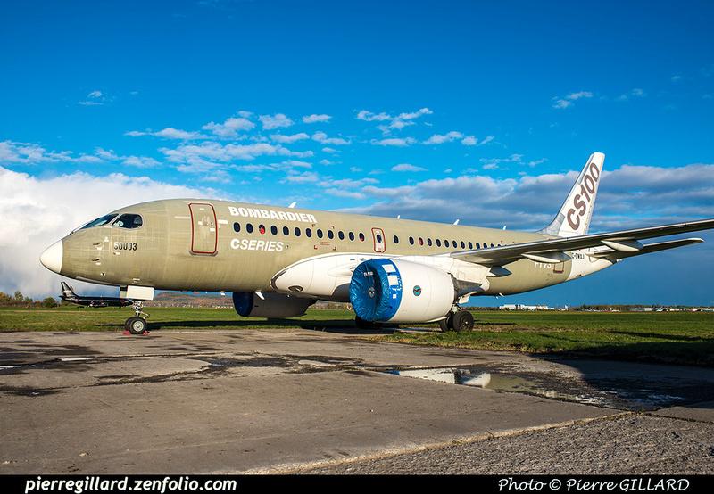Pierre GILLARD: Bombardier CSeries CS100 C-GWXJ &emdash; 2018-619754