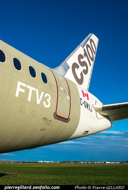 Pierre GILLARD: Bombardier CSeries CS100 C-GWXJ &emdash; 2018-619760