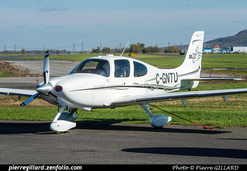 Pierre GILLARD: Private Aircraft - Avions privés : Canada &emdash; 2018-423753