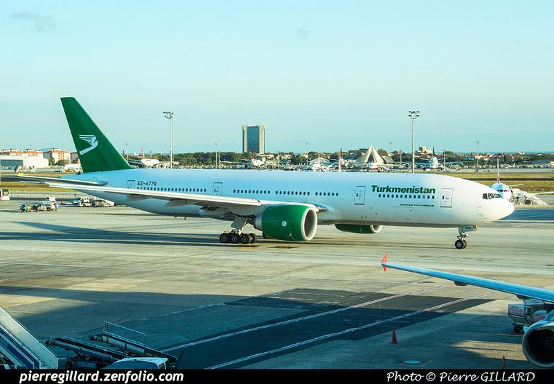 Pierre GILLARD: Turkmenistan Airlines &emdash; 2018-525338