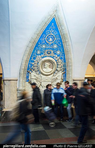 Pierre GILLARD: Moscou (Москва) : Métro - Моско́вский метрополите́н &emdash; 2018-525351