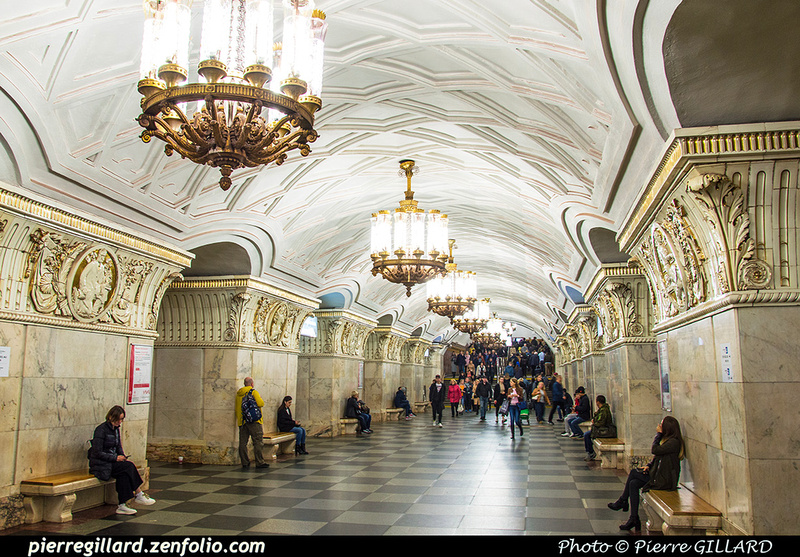 Pierre GILLARD: Moscou (Москва) : Métro - Моско́вский метрополите́н &emdash; 2018-525387