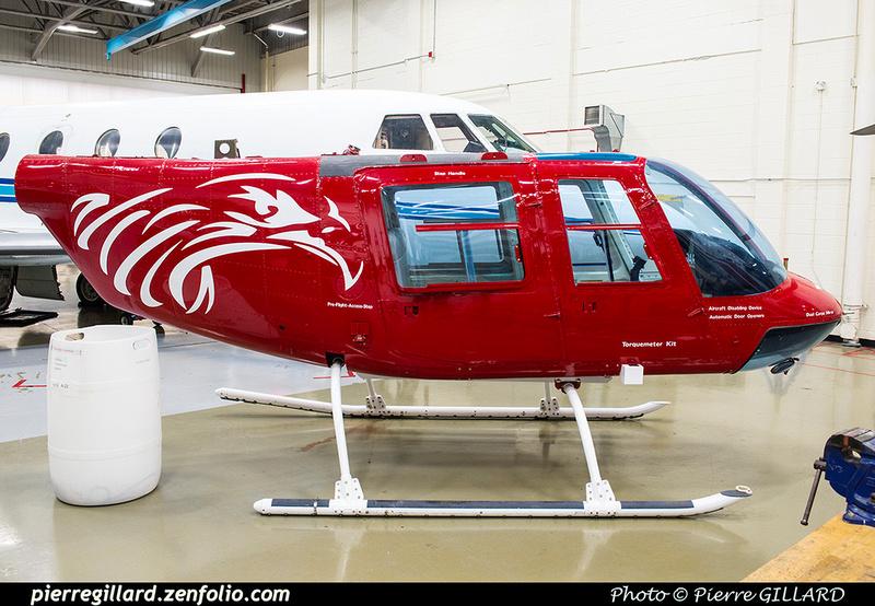 Pierre GILLARD: Bell 206B Jet Ranger II C-GQKU &emdash; 2018-619793