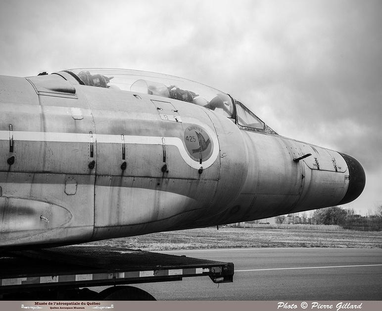 Pierre GILLARD: Avro CF-100 #100760 : au MAQ &emdash; 2018-620066