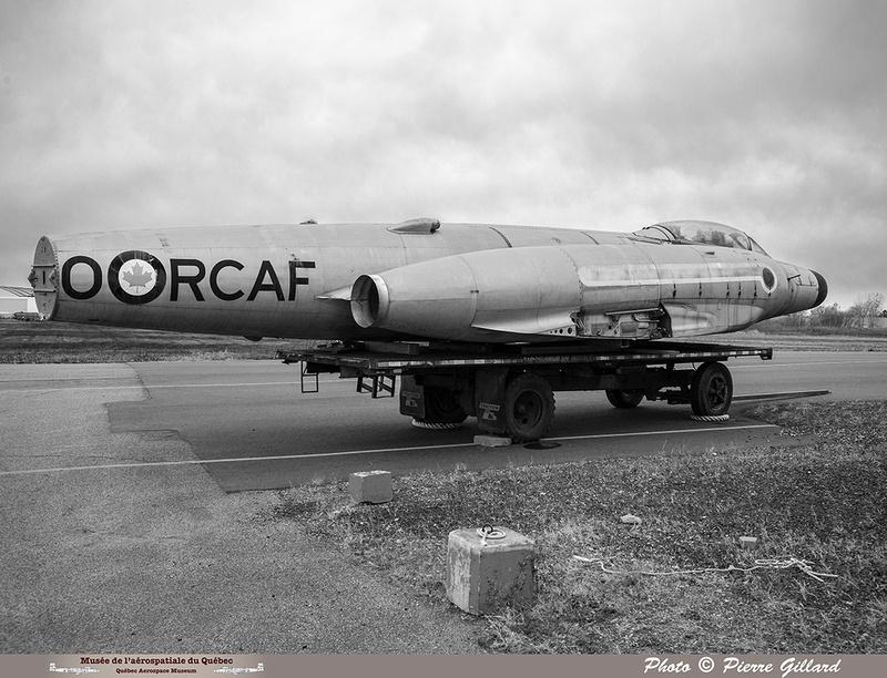 Pierre GILLARD: Avro CF-100 #100760 : au MAQ &emdash; 2018-620064