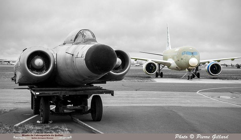 Pierre GILLARD: Avro CF-100 #100760 : au MAQ &emdash; 2018-620068