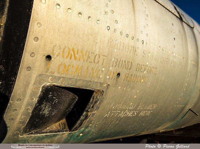 Pierre GILLARD: Avro CF-100 #100760 : détails &emdash; 2018-620126