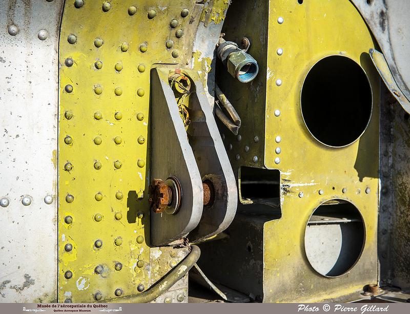 Pierre GILLARD: Avro CF-100 #100760 : détails &emdash; 2018-620106