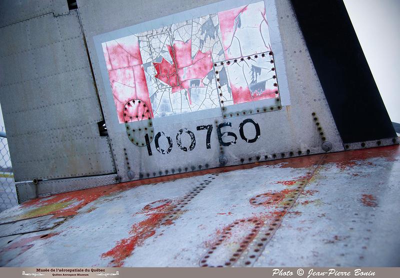 Pierre GILLARD: Avro CF-100 #100760 : détails &emdash; 2018-JPB-0281