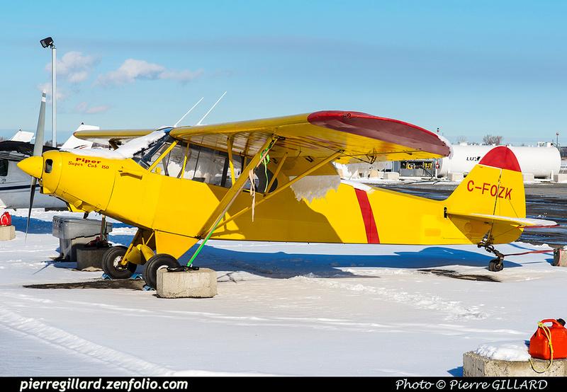 Pierre GILLARD: Private Aircraft - Avions privés : Canada &emdash; 2018-620245