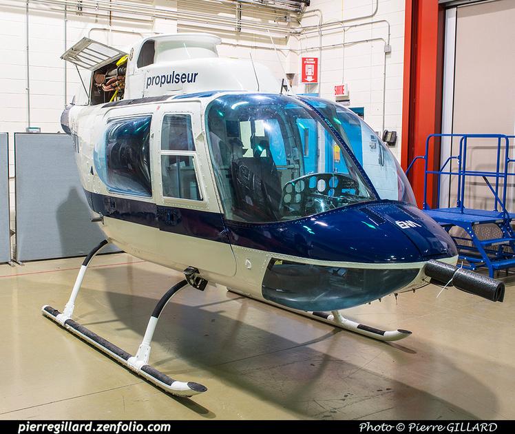 Pierre GILLARD: Bell 206B Jet Ranger II C-FOAN &emdash; 2018-620250