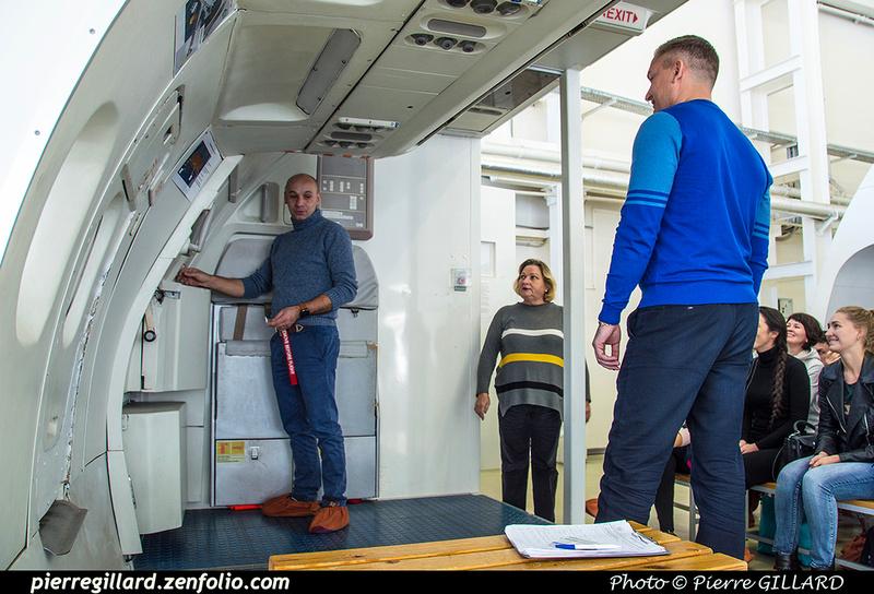 Pierre GILLARD: Russia - École des agents de bord de l'Aeroflot - Тренажерный комплекс Аэрофлота &emdash; 2018-525865